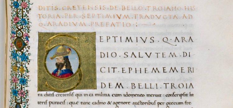 Witnesses to the Ephemeridos belli Troiani